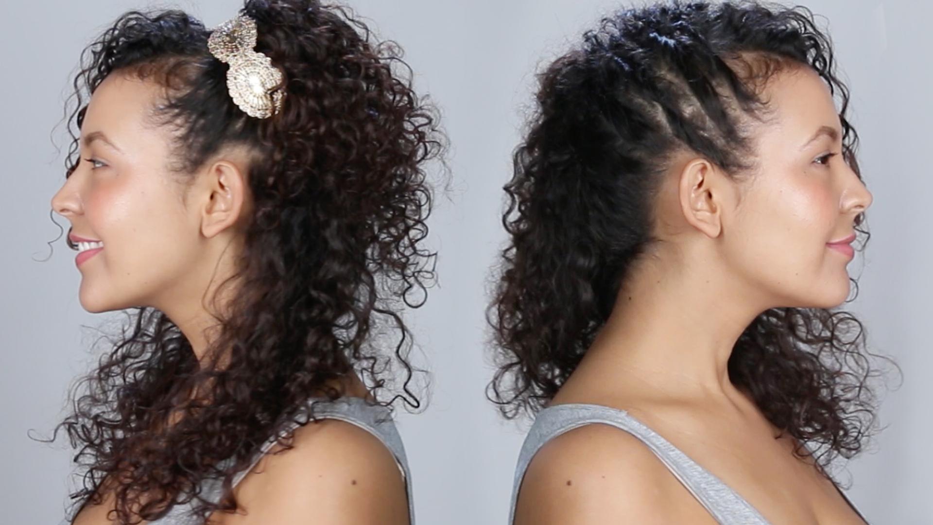 Acconciature capelli ricci corti facili