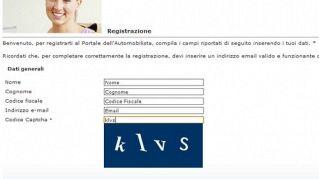 Metodo online per controllare i punti della patente