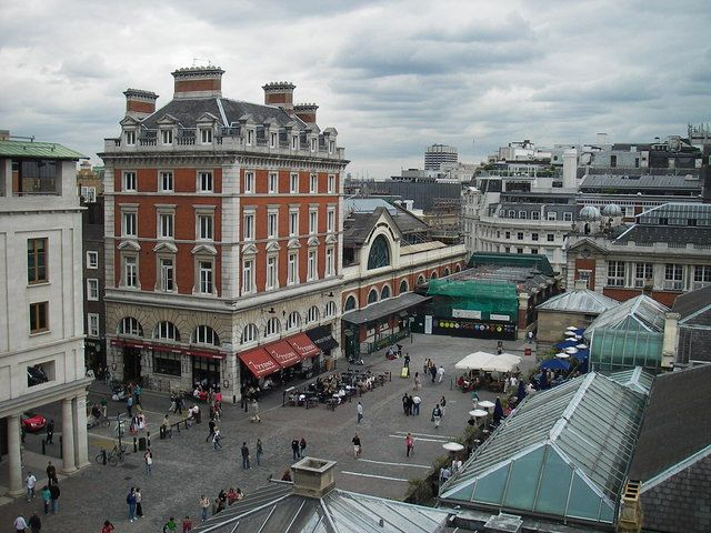 Covent Garden, dinamico e animato quartiere di Londra