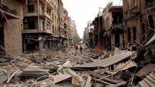 Aleppo e le altre città della Siria danneggiate dalla guerra