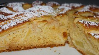 Come fare una torta di mele alta e soffice