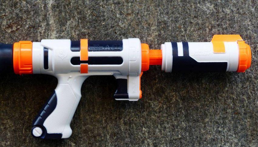 Nerf gun, il fucile giocattolo che spara a 100 km/h