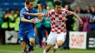 Ivan Perisic, uno dei punti di forza dell'Inter di Mancini