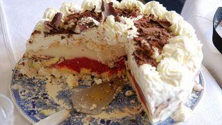 Torta con gelato senza accendere il forno