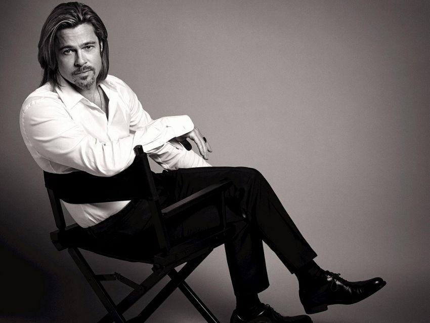 La vita privata dell'attore statunitense Brad Pitt