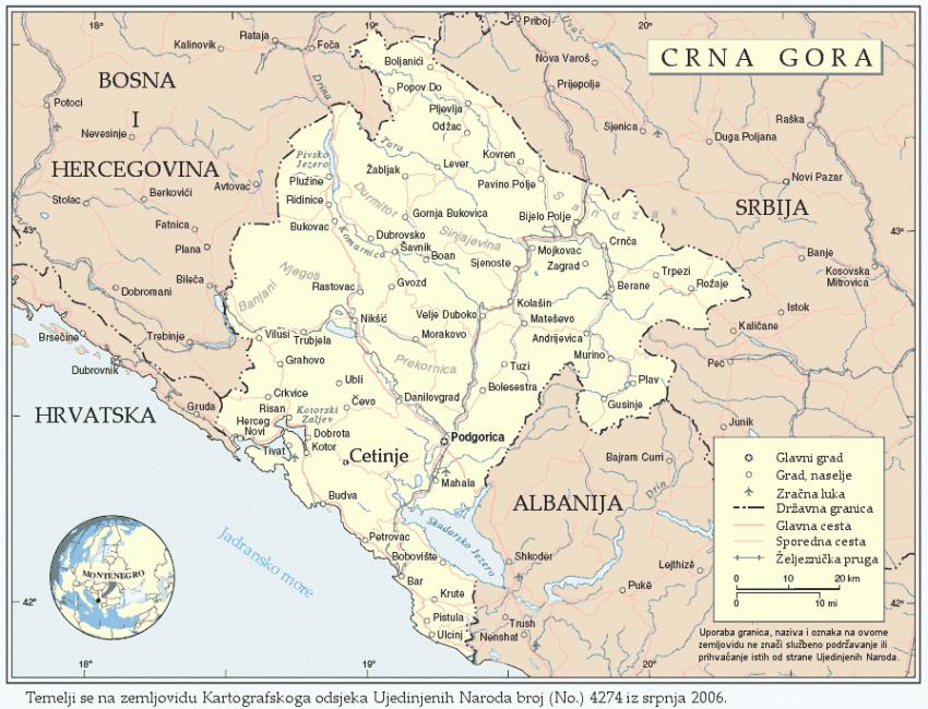 Montenegro: cosa fare, cosa visitare e in che periodo andare