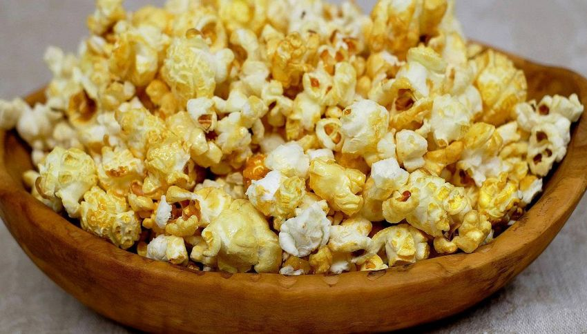 Una deliziosa variante dei popcorn al gusto di cannella