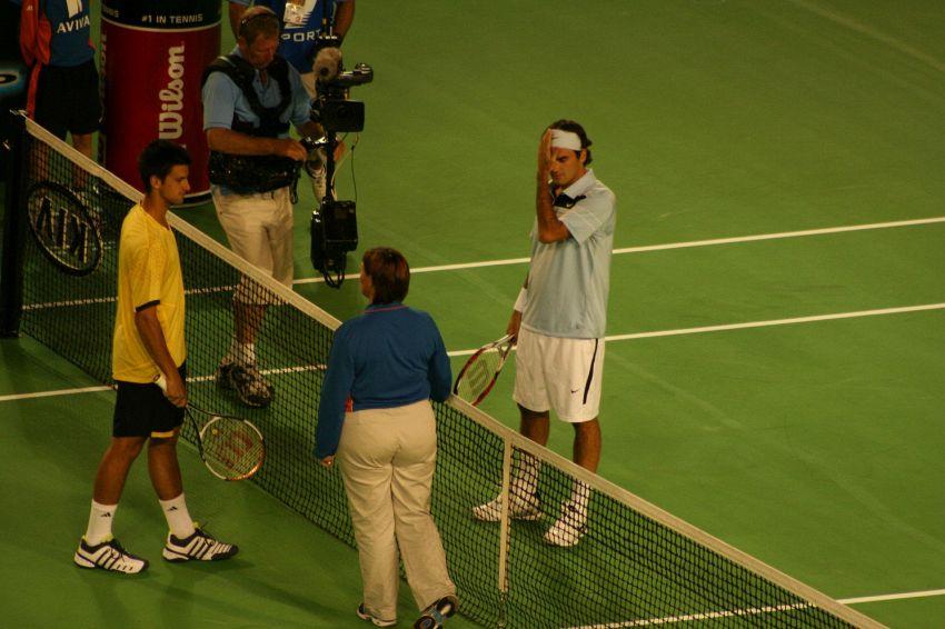 Federer contro Djokovic: tutti gli incontri di tennis
