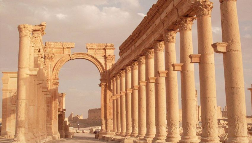 Perché Palmyra rappresenta un incredibile tesoro  per l'umanità