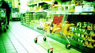 Il carrello per cani, al supermercato con Fido