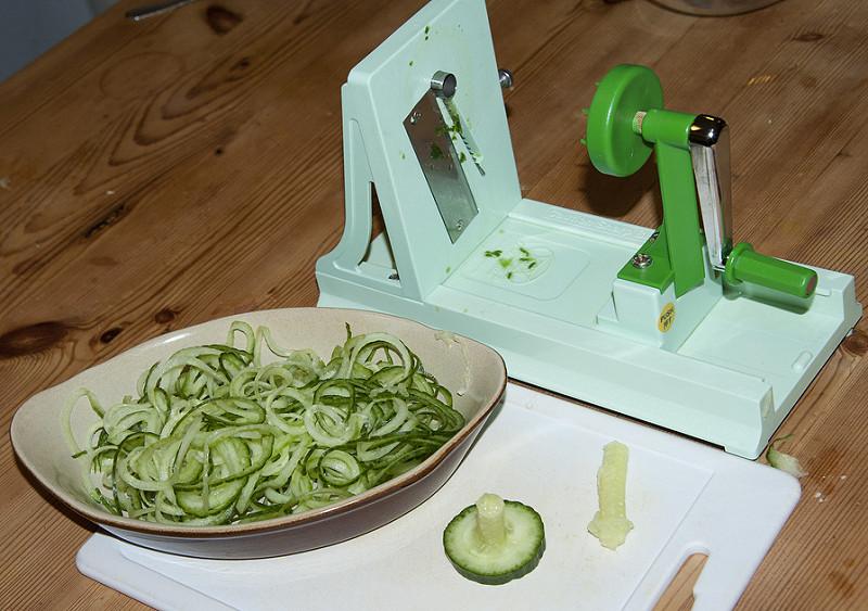 Spiralizer, gli spaghetti alternativi sono di verdura