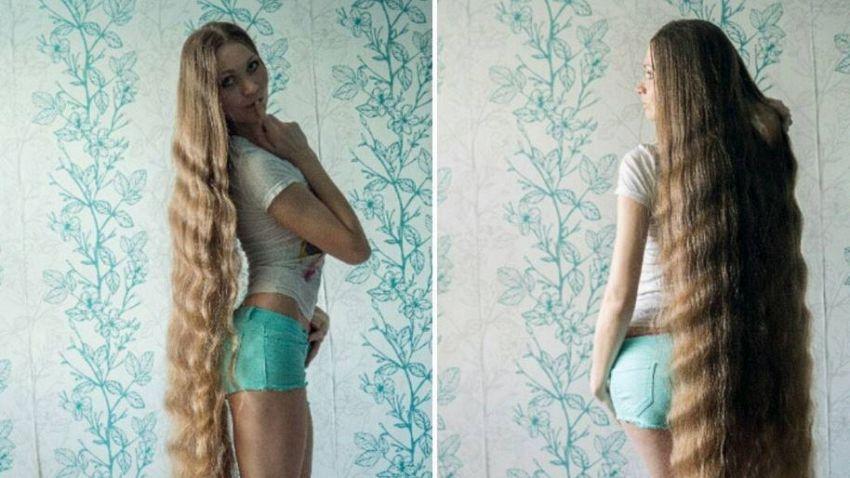 Chi è Dashik Gubanova, la ragazza coi capelli più lunghi al mondo