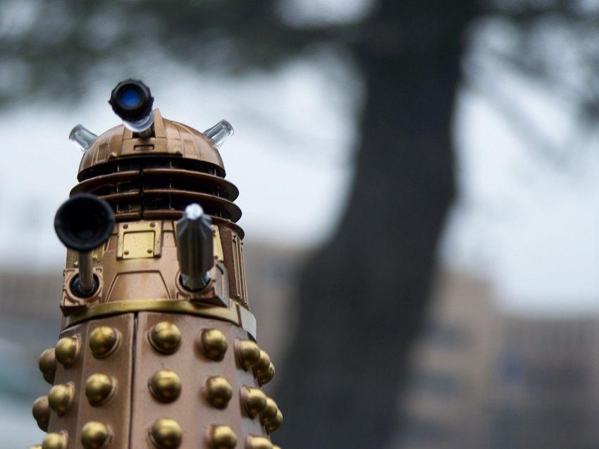 La Cina fabbrica il primo vero Dalek, il robot di sicurezza