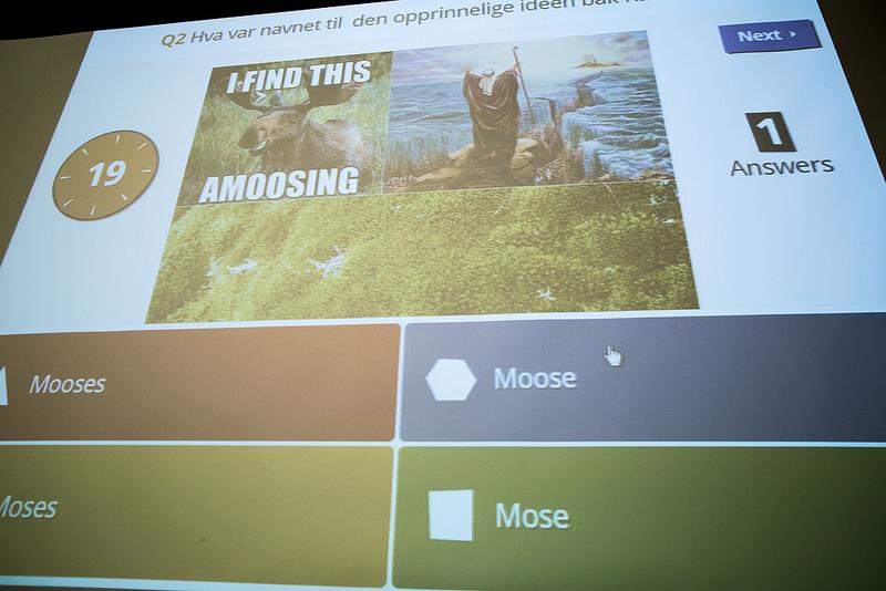 Kahoot è una app che trasforma ogni lezione in un quiz a premi