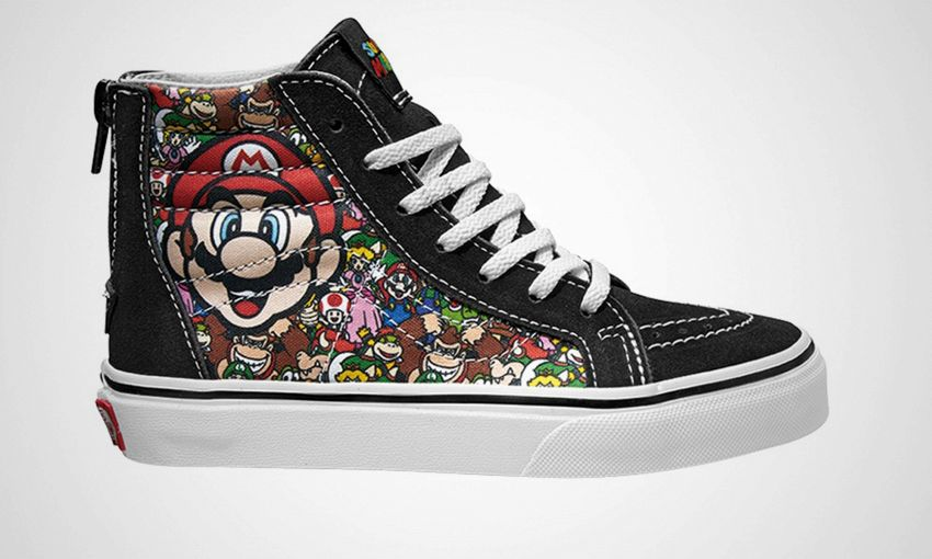 Vans presenta le scarpe da ginnastica Nintendo vintage