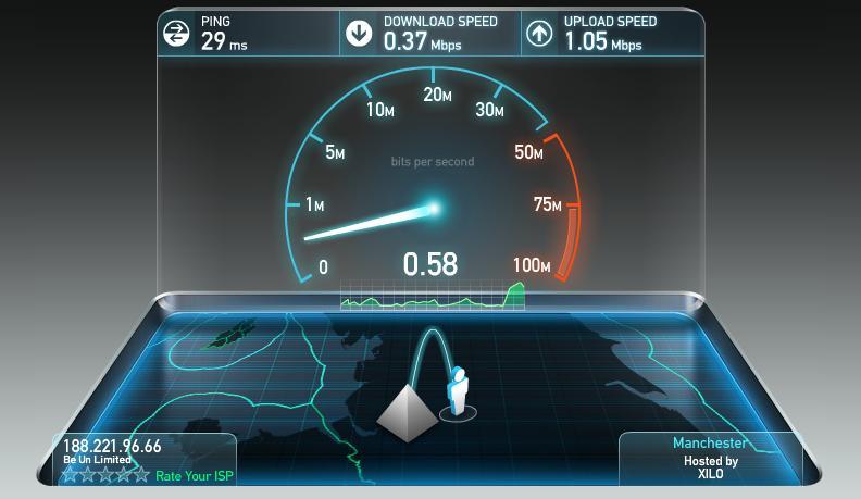 Netflix pubblica la classifica dei provider internet più veloci