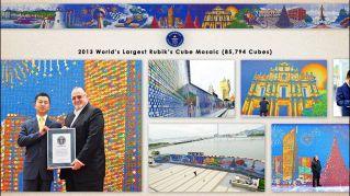 I Cubi di Rubik diventano arte, i pazzeschi murales di CubeWorks