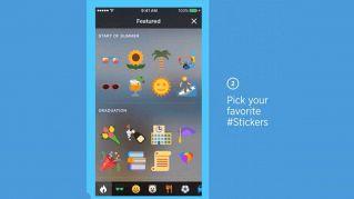 Rivoluzione su Twitter, arrivano gli #Stickers