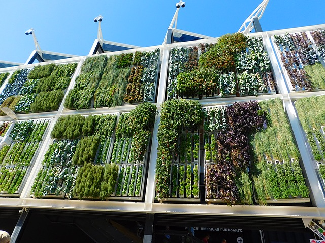 Idee per realizzare giardini verticali con pallet riciclati