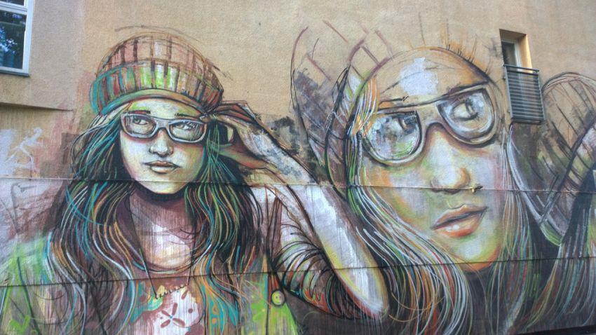 Donne e graffiti, Alice Pasquini è un'artista nota in tutto il mondo