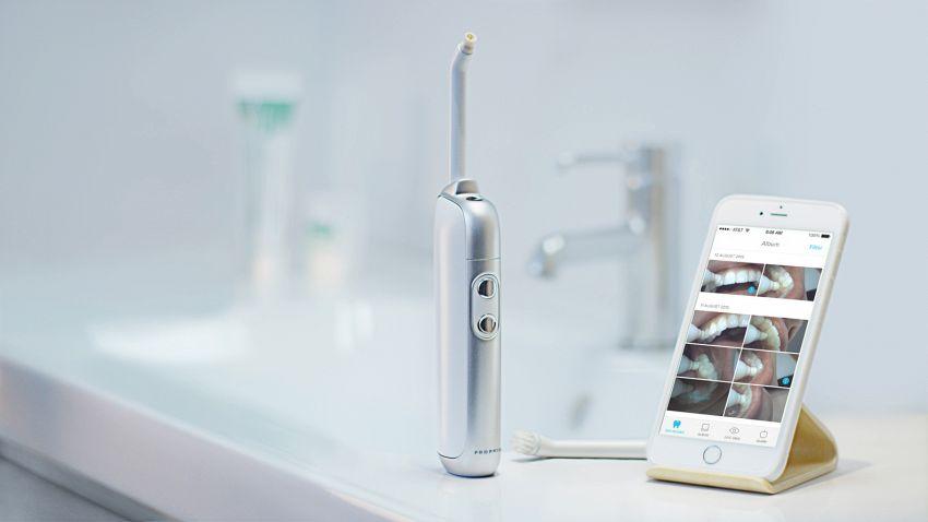 Fatevi i selfie alle gengive, Prophix è il primo video spazzolino