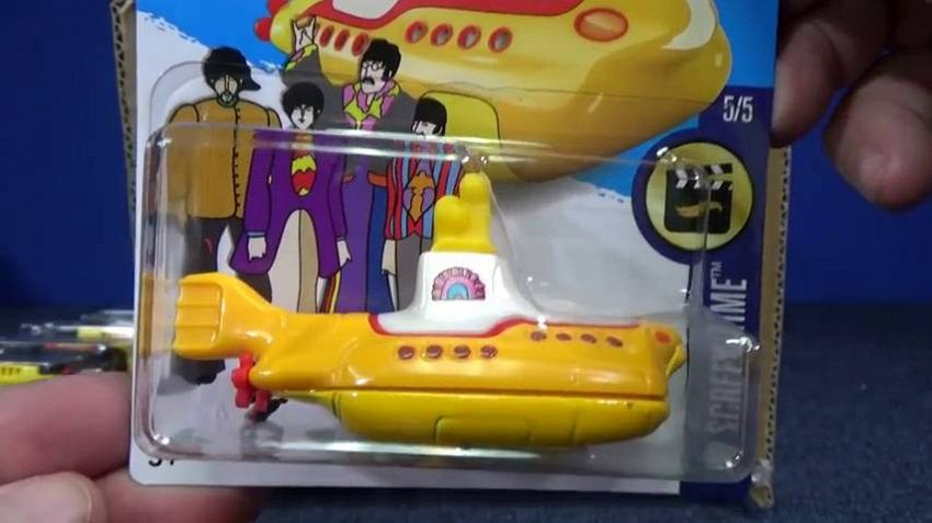 Hot Wheels e il Yellow Submarine dei Beatles, buon anniversario!