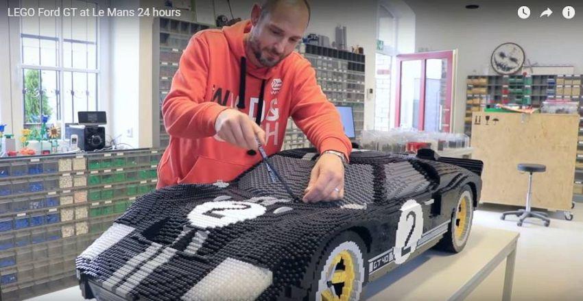 Lego e supercar, le auto da corsa Ford sono un'opera d'arte