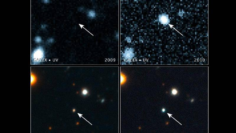 Buco nero galattico fotografato mentre inghiotte una stella