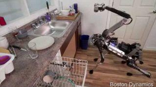 SpotMini, il robot-dinosauro che ti aiuta nei lavori di casa
