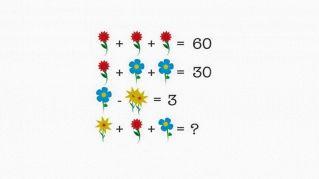 Riesci a risolvere questo puzzle floreale che sfida tutto il web?
