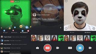 Facebook Live, nuove funzioni video per divertirsi tra amici
