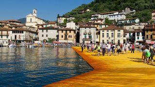 Floating Piers, se non potete andare di persona, usate Street View
