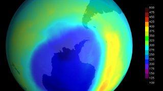 Il buco dell'ozono si è finalmente ridotto, di ben 4 milioni di km