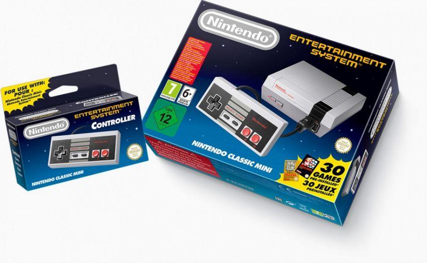 La mitica console Nintendo NES torna in versione mini