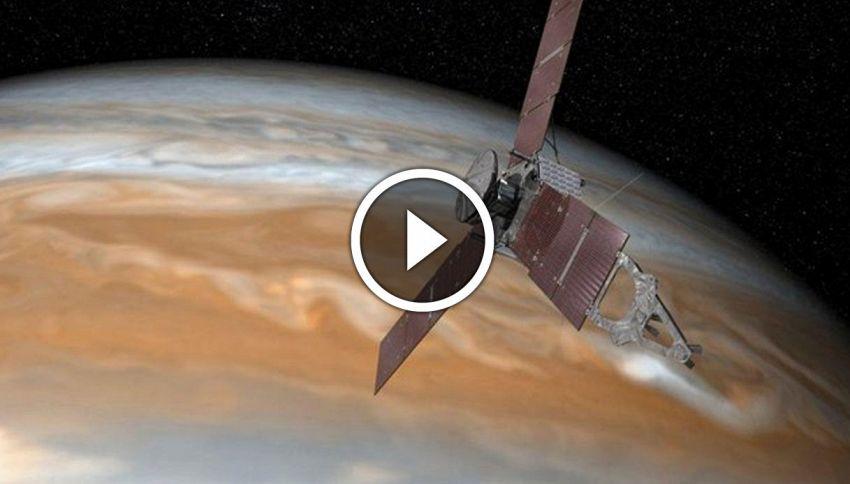 La sonda Juno raggiunge Giove, è storia. Verranno svelati grandi segreti