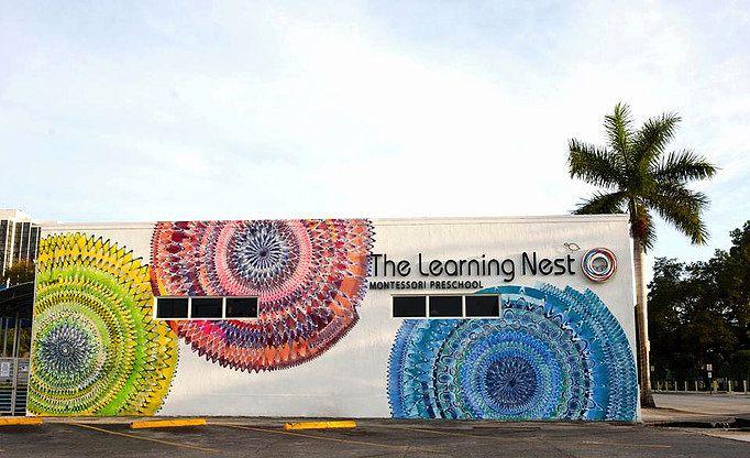 I murales di questo artista sono portali per altre dimensioni