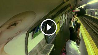 """La metro arriva ma non si vede: la geniale campagna di lancio per il film """"Ghostbusters"""""""