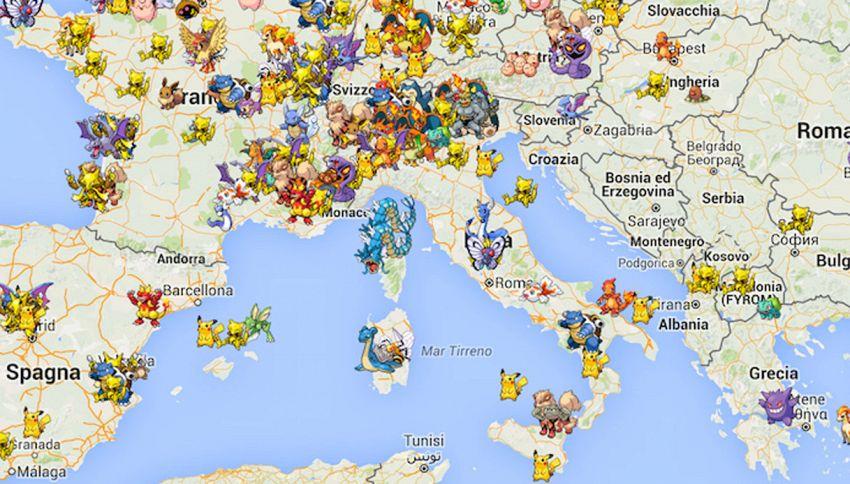 Arriva Pokeradar, l'app che ti mostra dove si trovano esattamente i Pokemon
