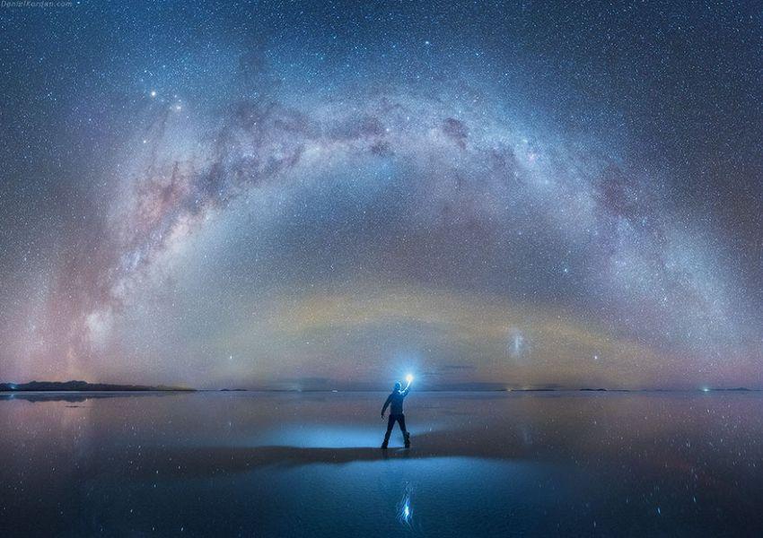 Un fotografo russo ha catturato la bellezza del nostro universo