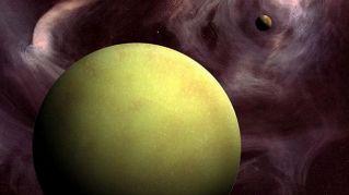 Foto di paesaggi spaziali sono in realtà fatte con frutta e ortaggi