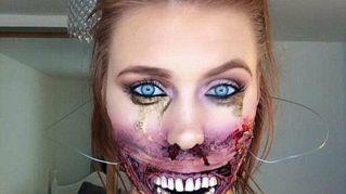 Il truccatore che crea make up che ti fanno venire gli incubi