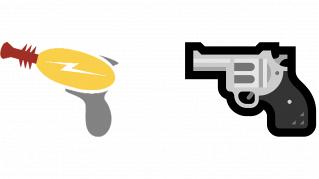 Emoji giocattolo in pistola vera: Microsoft fa il contrario di Apple