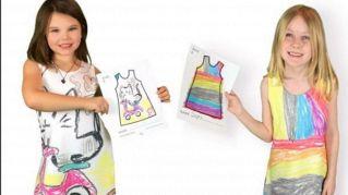 Moda fai da te, i bambini possono finalmente disegnare i loro vestiti