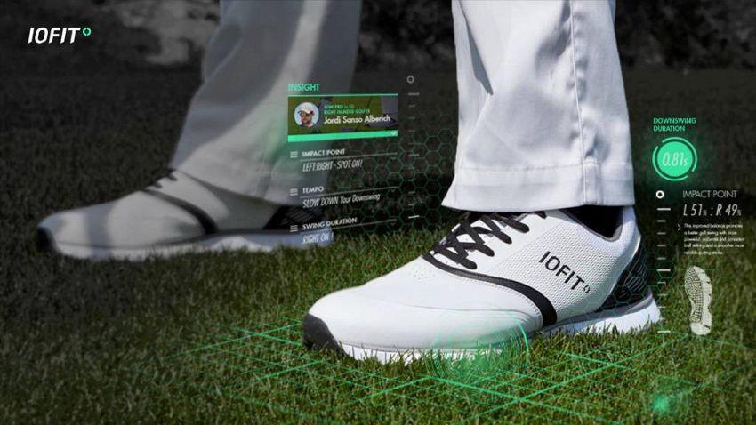 Ecco le scarpe smart di Samsung, ma servono solo per il golf