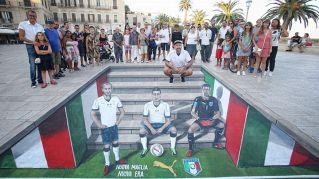 Ecco la nuova maglia della Nazionale Italiana ispirata al mondiale vinto nel 2006