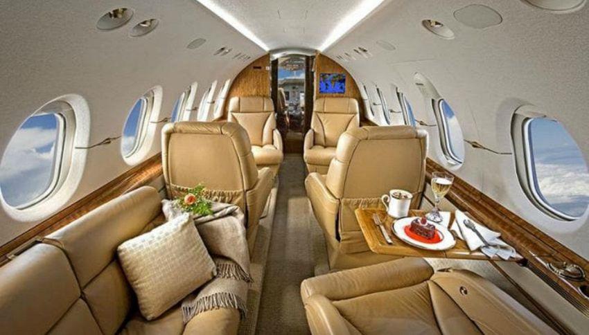 Jet privati, le richieste più strane fatte dai passeggeri