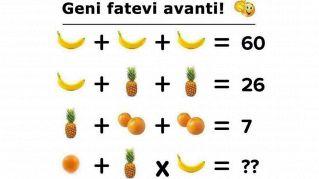 Sei bravo in matematica? Ecco un test per te