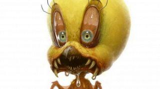 Dieci teneri disegni animati dell'infanzia trasformati in orribili mostri
