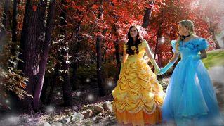 Quando Cenerentola sposa Belle: il fidanzamento è da favola