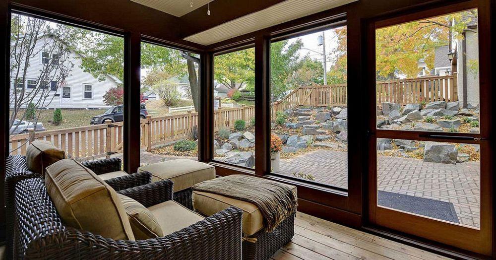 Come realizzare una veranda esterna da sogno supereva for Piani di veranda anteriore